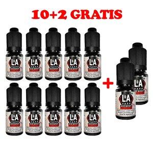 Pachet 10+2 Nicshot L&A Vape, 20mg/ml, 10ml
