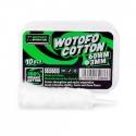 Wotofo Agleted Organic Cotton (3mm) 10buc