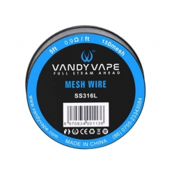 Vandyvape Mesh SS316L Wire 5ft 0.9Ωft 150 mesh (VW.0036)