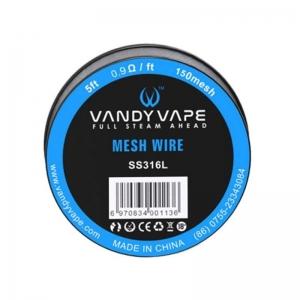 Vandyvape Mesh Ni80 Wire 1.8Ωft 100 mesh (VW.0035)