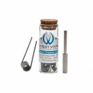 Vandyvape Fused Clapton Prebuilt Wire (VPC.0007) 10 buc