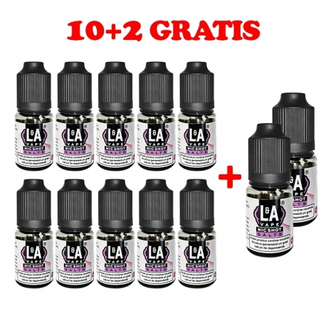 Nicshot L&A Vape Nic Shot Salts 10ml 20mg