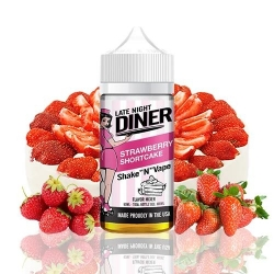 Lichid Strawberry Shortcake Late Night Diner 50ml 0mg