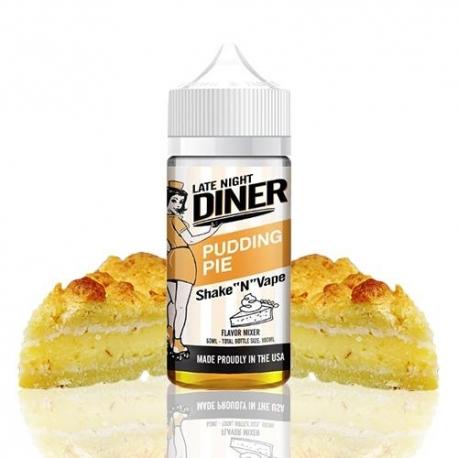 Lichid Late Night Diner Pudding Pie 50ml Shake and Vape