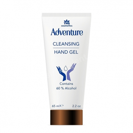 Gel de maini Adventure Cleansing Hand Gel 60% Alcool