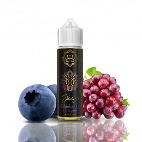 Lichid Blueberry Grapes Shisha 0mg 40ml King's Dew