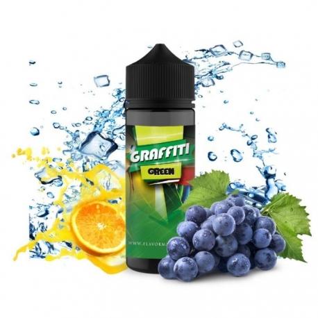 Lichid Graffiti Green Flavor Madness 100ml 0mg