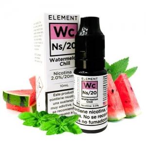 Lichid Watermelon Chill Designer Element 10ml NicSalt 20mg/ml