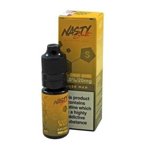 Lichid Cushman Banana Mango Banana Nasty Juice 10ml NicSalt 20 mg/ml Nasty Salt