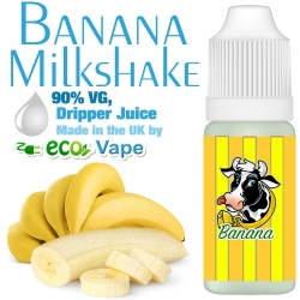 Eco Vape - Banana Milkshake - 0mg
