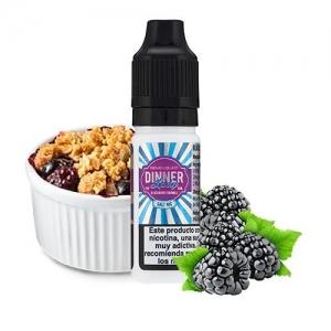 Lichid Blackberry Crumble Dinner Lady 10ml NicSalt 20 mg/ml