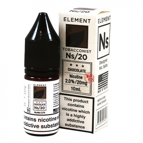 Lichid Chocolate Tobacco Element 10ml NicSalt 20mg/ml