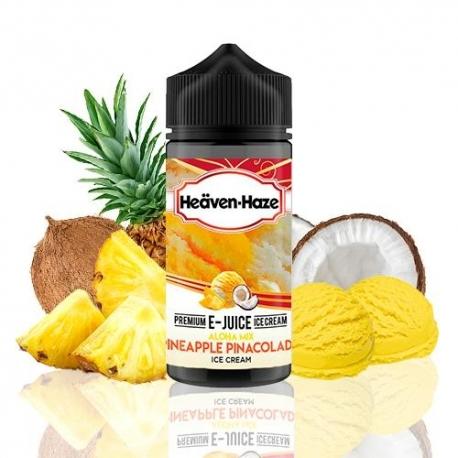 Lichid Aloha Mix Pineapple Pinacolada Ice Cream Heaven Haze 100ml 0mg