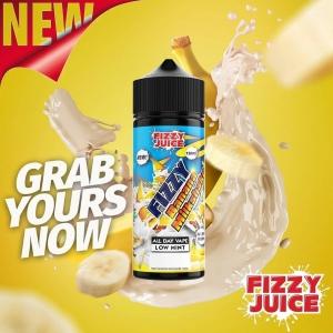 Lichid Banana Milkshake Fizzy 100ml 0mg