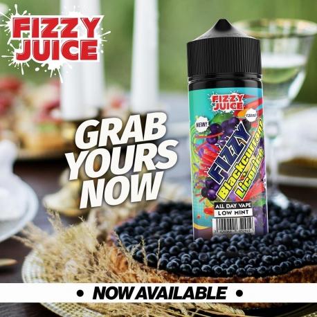 Lichid Blackcurrant Licorice Fizzy 100ml 0mg