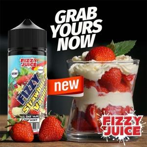 Lichid Strawberry Vanilla Fizzy 100ml 0mg