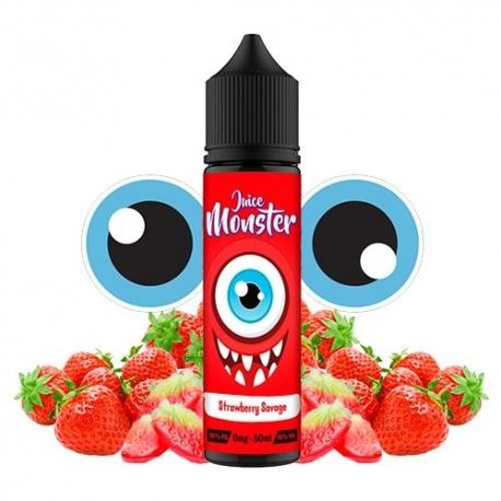 Lichid Strawberry Savage Juice Monster 50ml 0mg