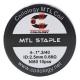 Set Rezistente Coilology MTL Staple Ni80 0.68ohm 10buc