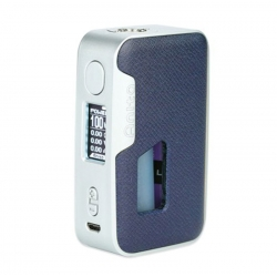 Mod Anita Artic Dolphin 100w Squonk Blue Leather Silver Frame Abs