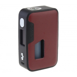 Mod Anita Artic Dolphin 100w Squonk Brownish Red Leather Black Frame Abs