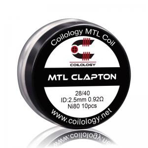 Set Rezistente Coilology MTL Clapton, Ni80, 0.92ohm, 10buc