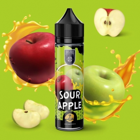Lichid Sour Apple Mystique Guerrilla Flavors 40ml 0mg