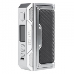 Mod Thelema DNA 250C Lost Vape SS Carbon Fiber Leather 250w