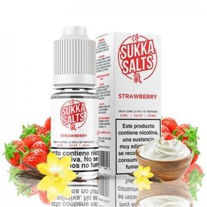Lichid Strawberry Sukka 10ml NicSalt 10 mg/ml