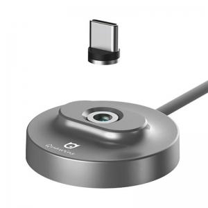 Incarcator Vstick Pro Quawins suport magnetic microUSB / USB C