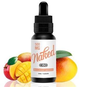 Lichid Amazingly Mango Naked CBD 500mg 30ml 0mg