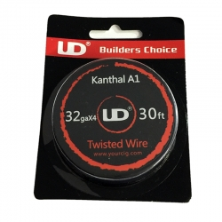 Kanthal A1 Twisted wire 32GAx4