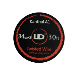 Kanthal A1 Twisted wire 34GAx3