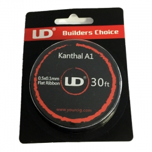 Kanthal A1 0.5x0.1mm flat ribbon