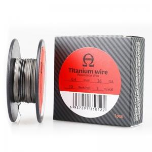 Titanium wire by WOTOFO