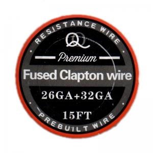 Fused Clapton wire 32GA*26GA 5M