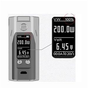WISMEC REULEAUX RX200S cu chip Joyetech