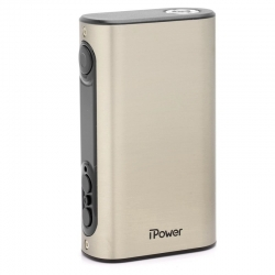Eleaf iPower 80W TC VW Box Mod - Brushed Silver , 5000mAh, 1~80W