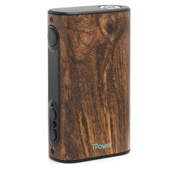 Eleaf iPower 80W TC VW Box Mod - Wood Grain , 5000mAh, 1~80W