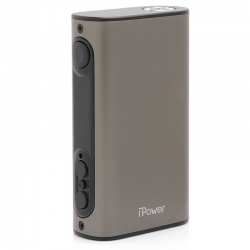 Eleaf iPower 80W TC VW Box Mod - Grey , 5000mAh, 1~80W