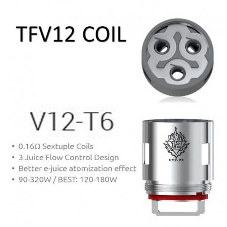 Rezistenta TFV12 V12-T6 0.17ohm