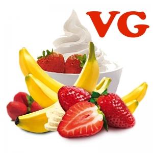 Lichid Strawberry & Banana VG 90ML 0mg