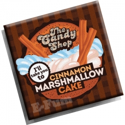 Aroma Cinnamon Marshmallow Cake Big Mouth THE CANDY SHOP 10 ML
