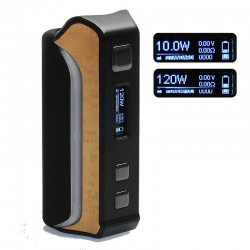 iPV Velas 120W TC Box Mod Pioneer4you - Negru