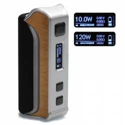 iPV Velas 120W TC Box Mod Pioneer4you - Argintiu