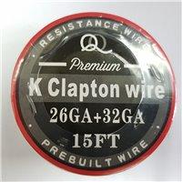 K Clapton Wire - 26ga x 32ga - 5 metri