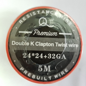 Double K clapton Twist 24ga*24ga+32ga 5m