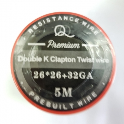 Double SS 316l Twisted Clapton 26ga*26ga+32ga 5m