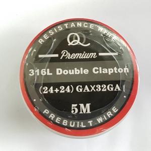 Double SS 316l parallel Clapton 24ga*24ga+32ga 5m