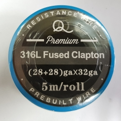 316L Fused twisted Clapton (28ga+28ga)*32ga 5m