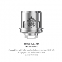 Rezistenta TFV8 X-Baby M2 Coil TPD Package 0.25ohm